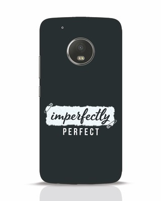 Shop I'm Perfect Moto G5 Plus Mobile Cover-Front