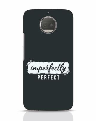 Shop I'm Perfect Moto G5s Plus Mobile Cover-Front
