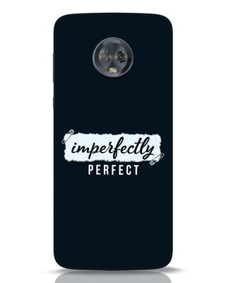 Shop I'm Perfect Moto G6 Mobile Cover-Front