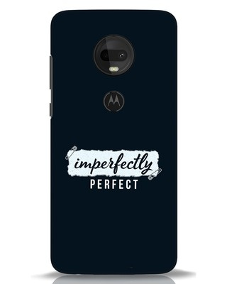 Shop I'm Perfect Moto G7 Mobile Cover-Front