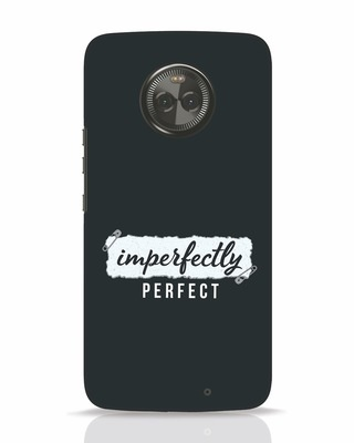 Shop I'm Perfect Moto X4 Mobile Cover-Front