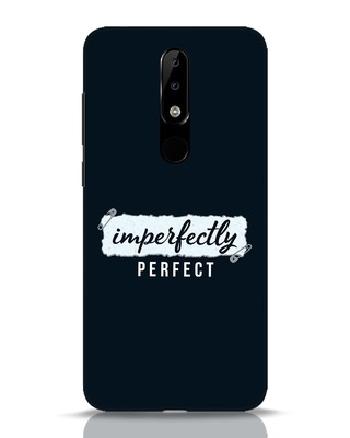 Shop I'm Perfect Nokia 5.1 Plus Mobile Cover-Front