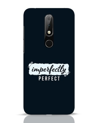 Shop I'm Perfect Nokia 6.1 Plus Mobile Cover-Front