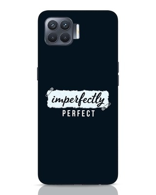 Shop I'm Perfect Oppo F17 Pro Mobile Cover-Front