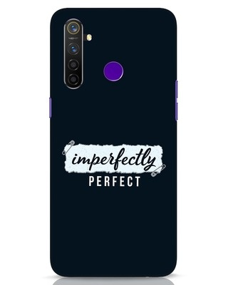 Shop I'm Perfect Realme 5 Pro Mobile Cover-Front