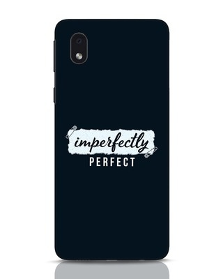 Shop I'm Perfect Samsung Galaxy M01 Mobile Cover-Front