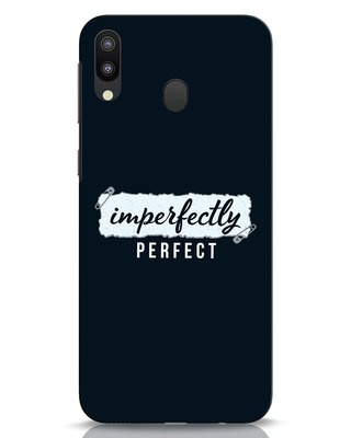Shop I'm Perfect Samsung Galaxy M20 Mobile Cover-Front