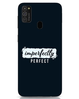 Shop I'm Perfect Samsung Galaxy M21 Mobile Cover-Front