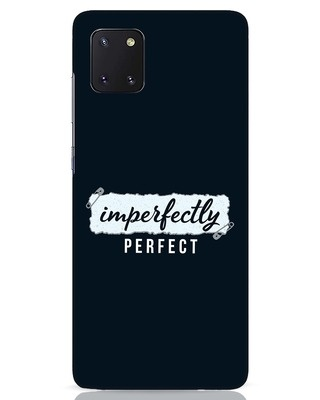 Shop I'm Perfect Samsung Galaxy Note 10 Lite Mobile Cover-Front