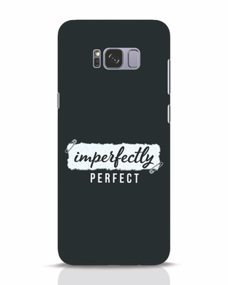 Shop I'm Perfect Samsung Galaxy S8 Plus Mobile Cover-Front
