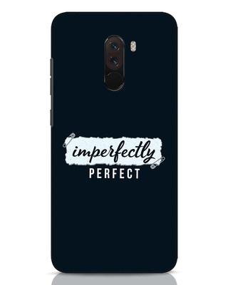 Shop I'm Perfect Xiaomi POCO F1 Mobile Cover-Front