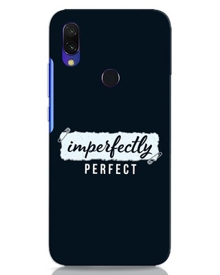 Shop I'm Perfect Xiaomi Redmi 7 Mobile Cover-Front