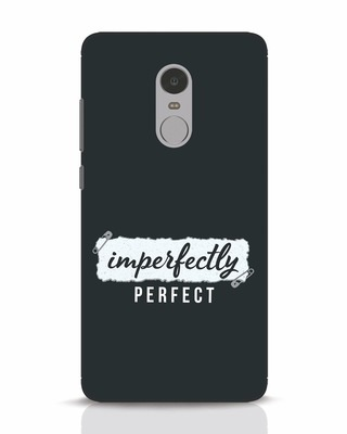 Shop I'm Perfect Xiaomi Redmi Note 4 Mobile Cover-Front