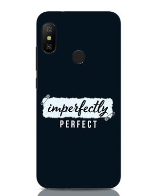 Shop I'm Perfect Xiaomi Redmi Note 6 Pro Mobile Cover-Front