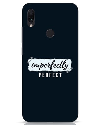 Shop I'm Perfect Xiaomi Redmi Note 7s Mobile Cover-Front
