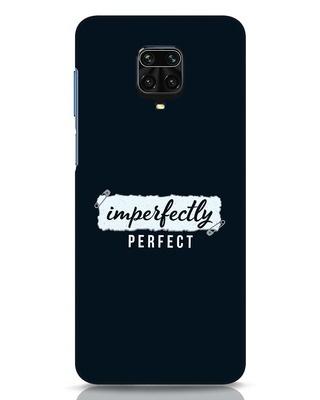 Shop I'm Perfect Xiaomi Redmi Note 9 Pro Max Mobile Cover-Front