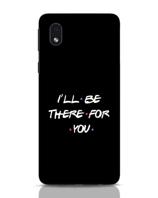 Shop I Will Be There For You Samsung Galaxy M01 Mobile Cover-Front