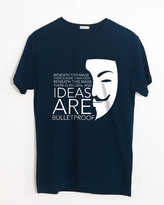 Buy Ideas Are Bulletproof Half Sleeve T-Shirt Online India @ Bewakoof.com