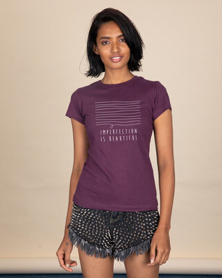 Shop Imperfection Half Sleeve T-Shirt-Front