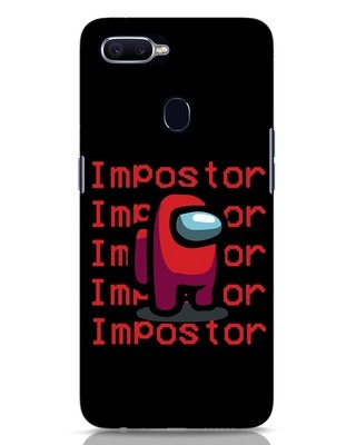 Shop Impostor Repeat Oppo F9 Pro Mobile Cover-Front