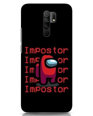 Shop Impostor Repeat Xiaomi Redmi 9 Prime Mobile Cover-Front