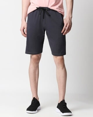 Shop India Ink Casual Shorts With Zip Pocket-Front