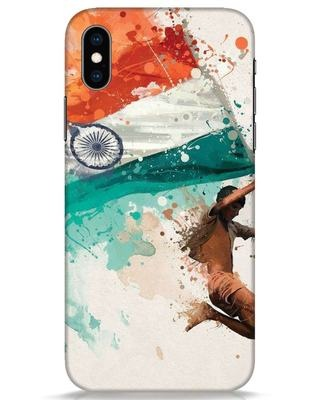 Shop India iPhone XS Mobile Cover-Front