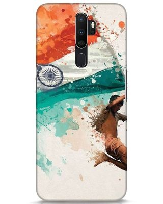 Shop India Oppo A5 2020 Mobile Cover-Front