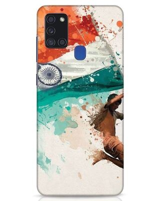 Shop India Samsung Galaxy A21s Mobile Cover-Front