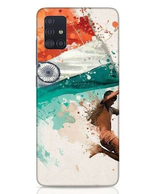 Shop India Samsung Galaxy A51 Mobile Cover-Front