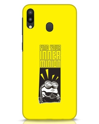 Shop Inner Me Samsung Galaxy M20 Mobile Cover-Front