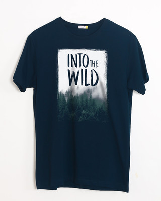 Buy Into The Wild Half Sleeve T-Shirt Online India @ Bewakoof.com