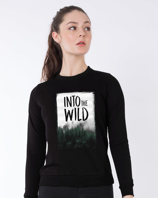 Shop Into The Wild Sweatshirt-Front
