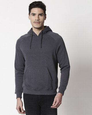 Shop Iron Gate Basic Hoodie Sweatshirt-Front