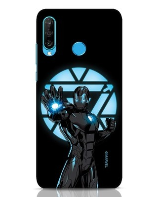Shop Iron Man Attack Huawei P30 Lite Mobile Cover-Front