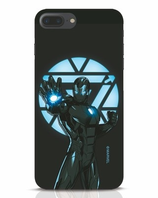 Shop Iron Man Attack iPhone 7 Plus Mobile Cover-Front