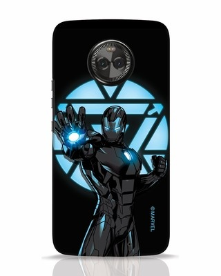 Shop Iron Man Attack Moto X4 Mobile Cover-Front