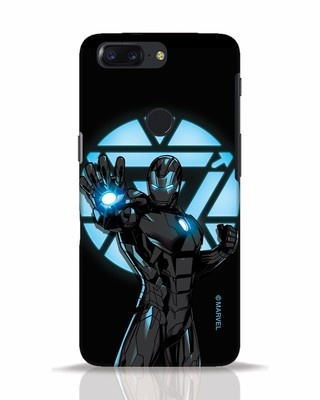 Shop Iron Man Attack OnePlus 5T Mobile Cover-Front