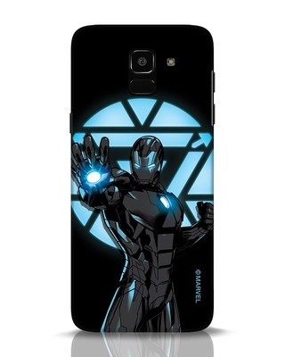Shop Iron Man Attack Samsung Galaxy J6 Mobile Cover-Front