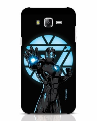 Shop Iron Man Attack Samsung Galaxy J7 Mobile Cover-Front