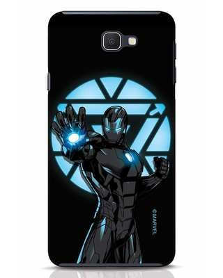 Shop Iron Man Attack Samsung Galaxy J7 Prime Mobile Cover-Front