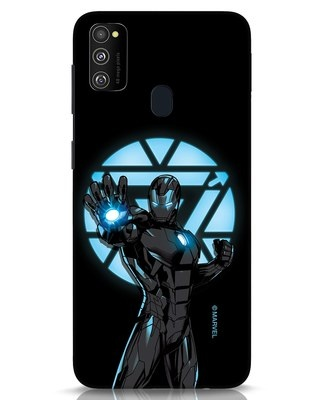 Shop Iron Man Attack Samsung Galaxy M30s Mobile Cover-Front