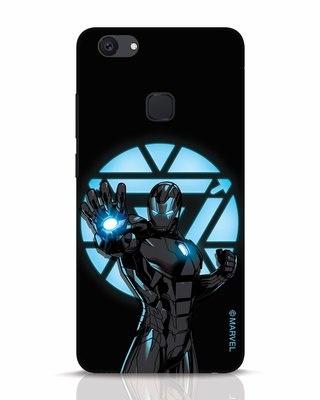 Shop Iron Man Attack Vivo V7 Plus Mobile Cover-Front