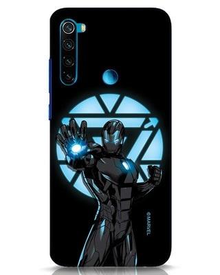 Shop Iron Man Attack Xiaomi Redmi Note 8 Mobile Cover-Front