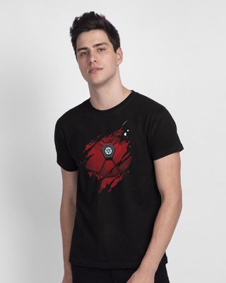 Shop Iron Man Of War Half Sleeve T-Shirt (AVL)-Front