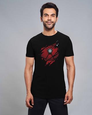 Shop Iron Man Of War Half Sleeve T-Shirt (AVL)-Front
