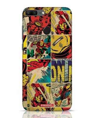Shop Iron Man Pattern Huawei Honor 9 Lite Mobile Cover-Front