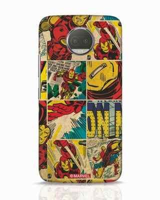 Shop Iron Man Pattern Moto G5s Plus Mobile Cover-Front