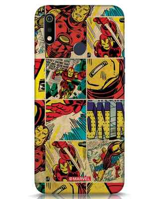 Shop Iron Man Pattern Realme 3i Mobile Cover-Front