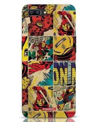 Shop Iron Man Pattern Realme C1 Mobile Cover-Front